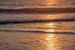 Atlantic ocean sunset Royalty Free Stock Photo