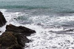Atlantic ocean surf in Iceland Stock Images