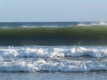 Atlantic ocean SURFING WAVES Stock Images