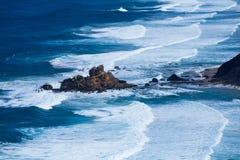 Atlantic ocean from Torre de Aspa viewpoint in Algarve, Portugal Stock Photo