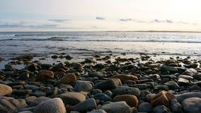 Nova scotia canada. Atlantic ocean view in nova scotia, canada stock photo