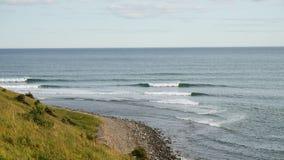 Nova scotia canada. Atlantic ocean view in nova scotia, canada royalty free stock images