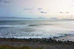 Nova scotia canada. Atlantic ocean view in nova scotia, canada stock photography