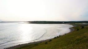 Nova scotia canada. Atlantic ocean view in nova scotia, canada stock image