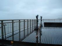 Atlantic Ocean. Viewing point. Atlantic Ocean. A storm suddenly arose royalty free stock images