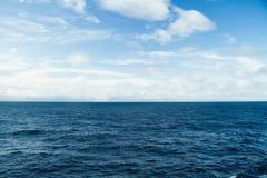 Atlantic Ocean övre sikt Royaltyfria Foton