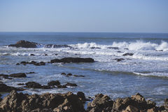 Atlantic Ocean waves royaltyfri fotografi