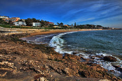 Atlantic ocean waves Royalty Free Stock Photography