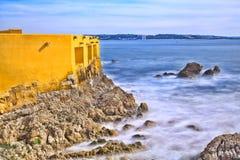 Atlantic ocean waves Royalty Free Stock Images