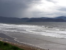 Atlantic Ocean With Waves Off The Dingle Peninsula Ireland Stock Images