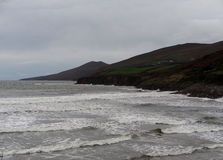 Atlantic Ocean With Waves Off The Dingle Peninsula Ireland Royalty Free Stock Images
