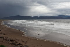 Atlantic Ocean With Waves Off The Dingle Peninsula Ireland Royalty Free Stock Image