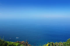 Atlantic ocean, West most point of Europe, Portugal Stock Images