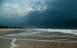 Atlantic oceanfront after the storm Royalty Free Stock Photography
