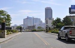 Atlantic Palace Hotel & Casino in Atlantic City resort from New Jersey USA Stock Image