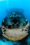Atlantic Princes. Ship Wreck Atlantic Princes Underneath the Caribbean Sea in the Dominican REpublic, Bayahibe Royalty Free Stock Photo