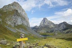 The Atlantic Pyrenees, Bearn Royalty Free Stock Photos