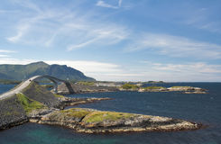 Atlantic Road Stock Image