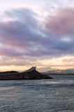 Atlantic road, Atlanterhavsvegen. One of the most beautiful roads in the world Royalty Free Stock Photo