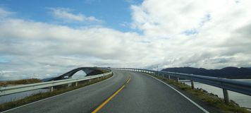 Atlantic road Royalty Free Stock Photo