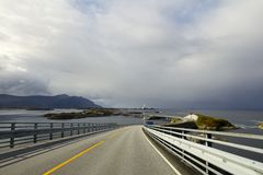 Atlantic Road Royalty Free Stock Images