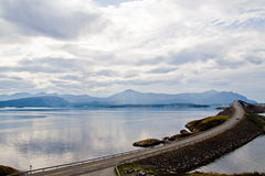 Atlantic road, Norway Stock Image