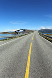 Atlantic Road in Norway Stock Photography