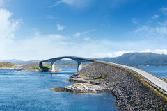 Atlantic Road in Norway Royalty Free Stock Photography
