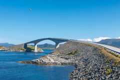 Atlantic Road in Norway Royalty Free Stock Photos