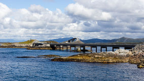 The Atlantic Road in Norway Royalty Free Stock Image