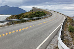 Atlantic Road in Norway Royalty Free Stock Photos