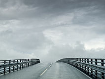 Atlantic Road to Heaven Royalty Free Stock Photos