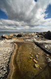Atlantic rocky shore Royalty Free Stock Images
