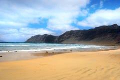 Atlantic sand shore Royalty Free Stock Photos