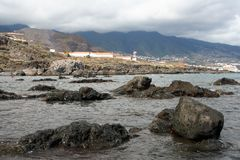 Atlantic shore of Canaries Royalty Free Stock Image