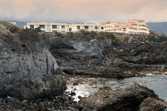 Atlantic shore of Canaries Stock Images