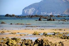 Atlantic shore of Cantabria, Spain Royalty Free Stock Photo
