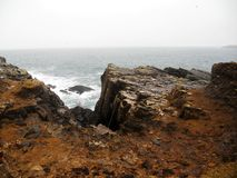 Atlantic shore Royalty Free Stock Image