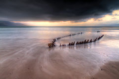 Atlantic storm coming royalty free stock photo