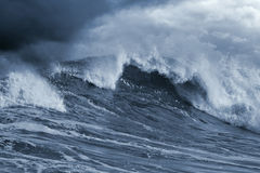 Atlantic Stormy Wave Stock Photography