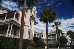 Atlantic Street Mansions Royalty Free Stock Photography
