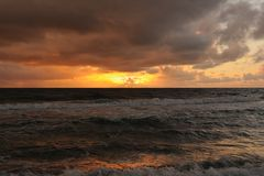 Atlantic Sunrise Royalty Free Stock Photo