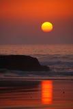 Atlantic sunset Royalty Free Stock Images