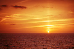 Atlantic sunset Royalty Free Stock Image