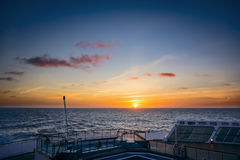 Atlantic sunset Royalty Free Stock Photography
