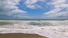 Atlantic Surf Loop stock video footage