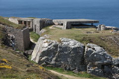 Atlantic Wall Stock Image