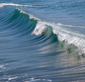 Atlantic waves. Large rolling waves on the Atlantic coast in France Royalty Free Stock Photos