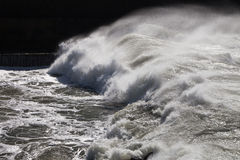 Atlantic waves at Portugal coast. Stock Images