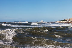 Atlantic waves at Portugal coast. Stock Image